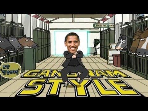 President Obama Gangnam Style