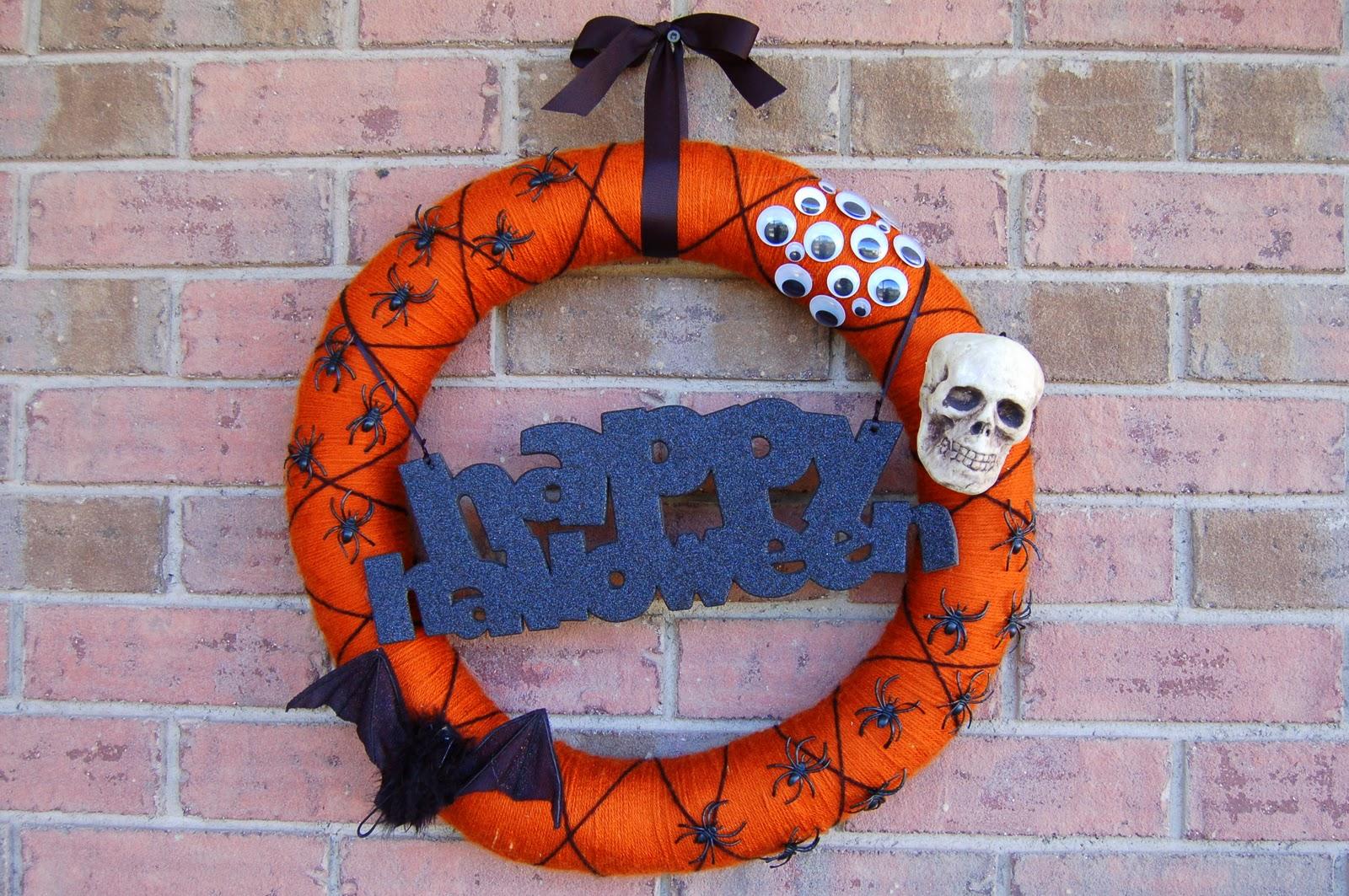 Diy Halloween Wreath I Heart Crafty Things