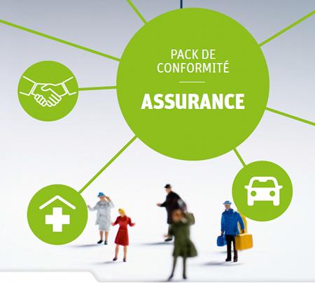 Pack de Conformité CNIL pour l'Assurance