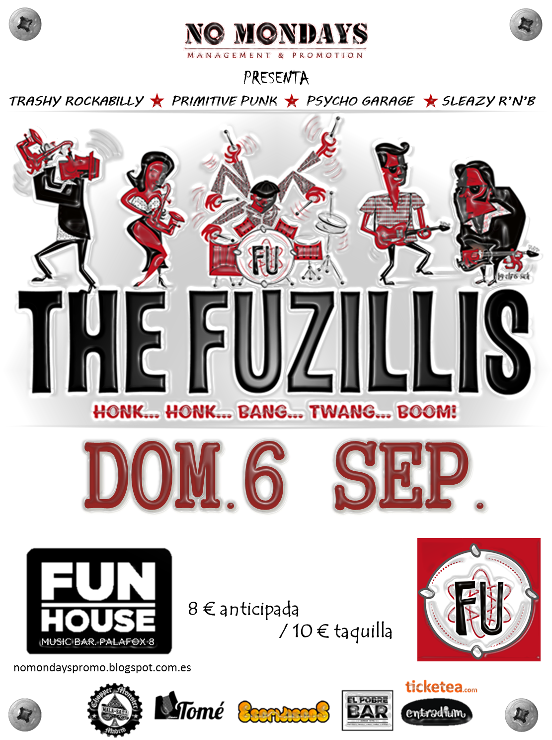 The Fuzillis - 06/09/2015 - Fun House