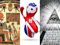 Maskot olimpiade london 2012 dan Dajjal