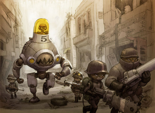 Mech Unit 76c on Patrol por JakeParker