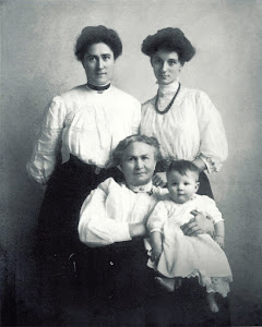 My Grandmother, Great Grandmother, Great Great Grandmother and my Aunt Dorothy as a baby - 1907