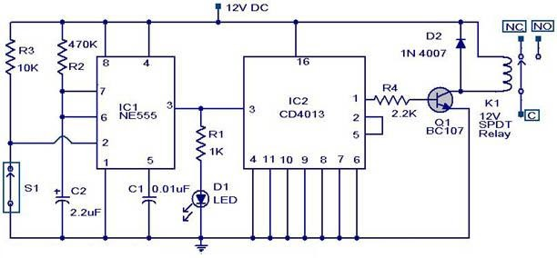 Magnetic Switch Circuit