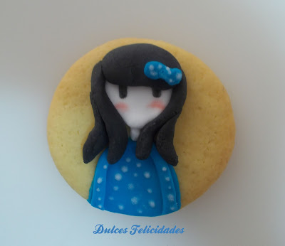 Galletas Gorjuss fondant