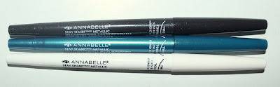 Annabelle Stay Sharp Metallic Self Sharpening Waterproof Kohl Eyeliner