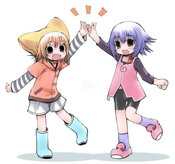 Anime Girl Bffs