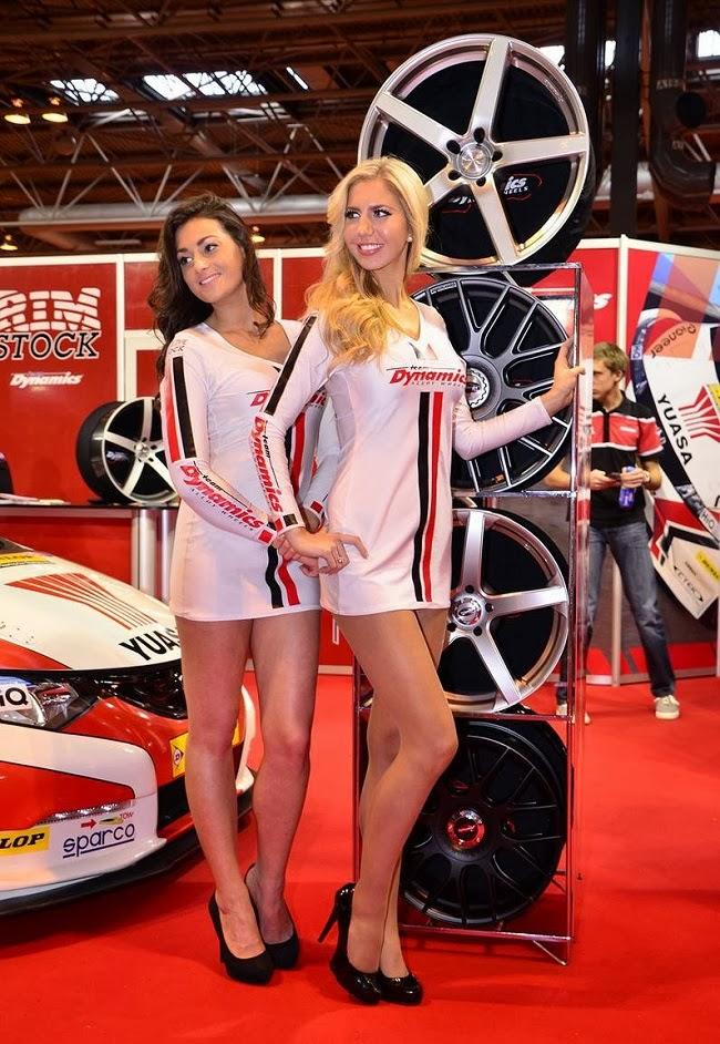 2014 Autosport International Girls Carsfresh