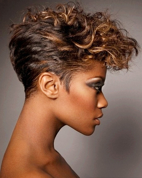 The Cool Trendy Short Weave Hairstyles Picture