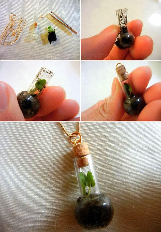 Awesome Nature DIY Terrarium Necklace
