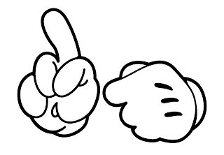 Mickey Mouse Hands Or Gloves Templates Is It For
