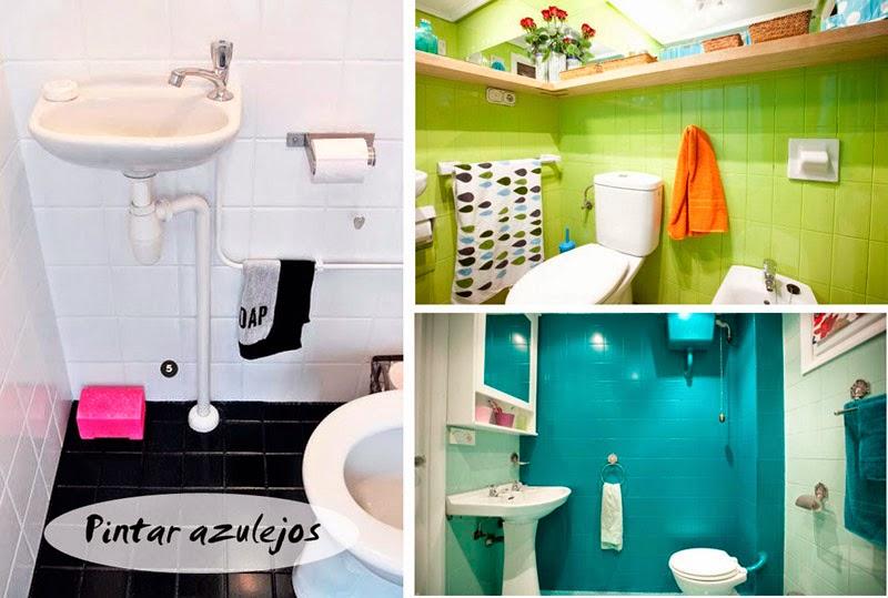 Azulejo Para Baño Economico:ideas-sencillas-para-renovar-las-paredes-del-baño-pintar-azulejosjpg