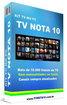 Com o Kit TV Nota 10, Você vai Assistir TV On Line ESPN, Assistir Filmes De Terror, Assistir UFC Ao Vivo, Assistir Rede Globo, Assistir TV Online SBT