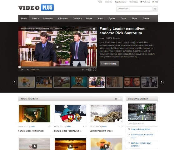 VideoPlus - WordPress Video Theme