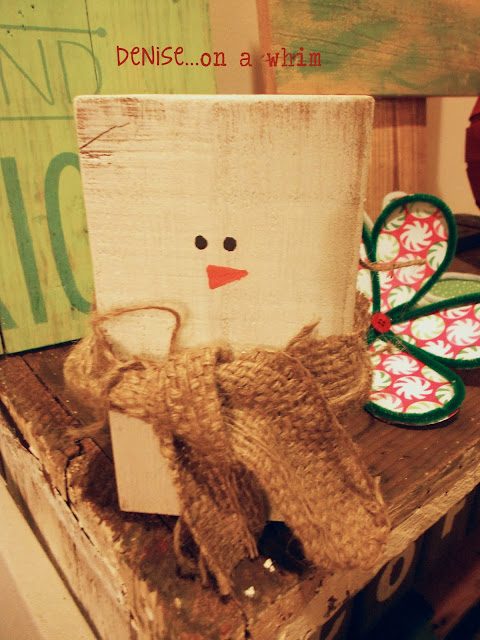 Christmas Through Lowell Booth Display via http://deniseonawhim.blogspot.com