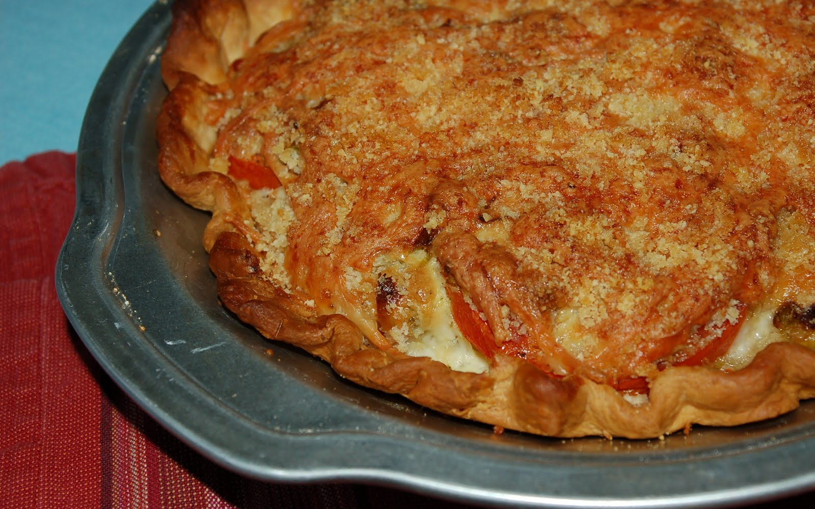 Another Marvelous Meal: Southern Tomato Pie