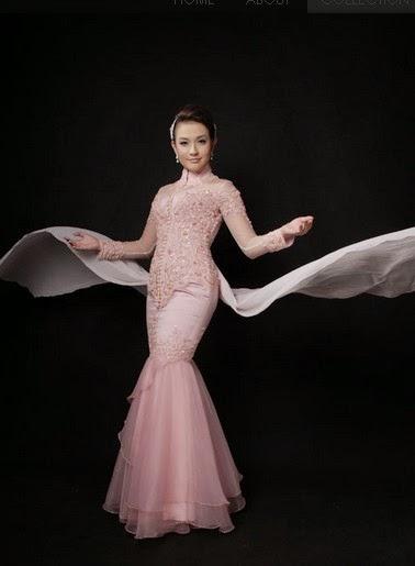 Model Gaun Kebaya Modern Artis Selebritis