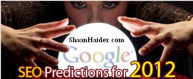 4 SEO Predictions For  2012