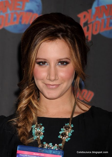 Ashley Tisdale - Planet Hollywood in New York