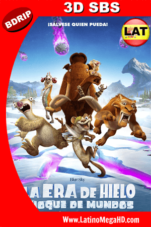 La Era de Hielo: Choque de Mundos (2016) Latino HD 3D SBS BDRIP 1080P (2016)