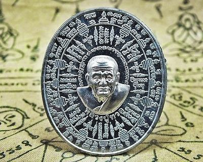 Holy Amulet Magic Coin Yuntra LP.Thuad Phra Buddha Powerful Rich Success