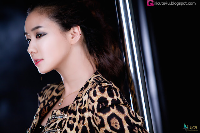 1 Kim Ha Yul - Leopard Girl-very cute asian girl-girlcute4u.blogspot.com