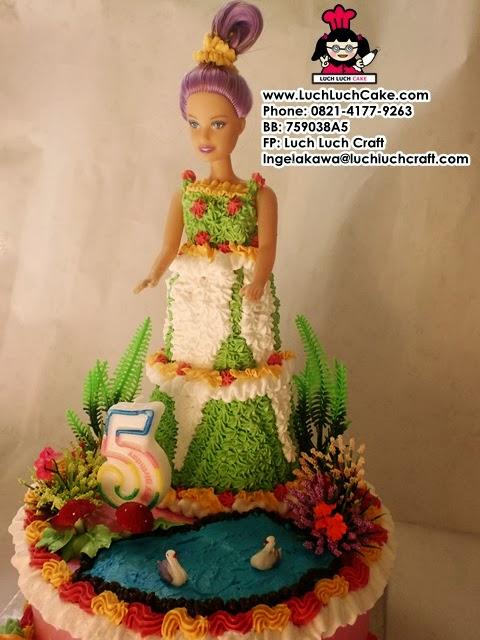 kue tart princess barbie daerah surabaya sidoarjo