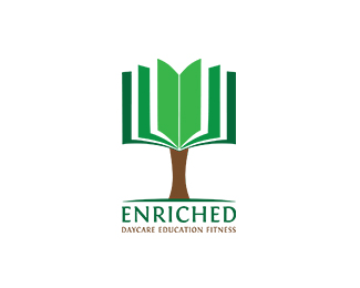 School Logo: Enriched Daycare Education