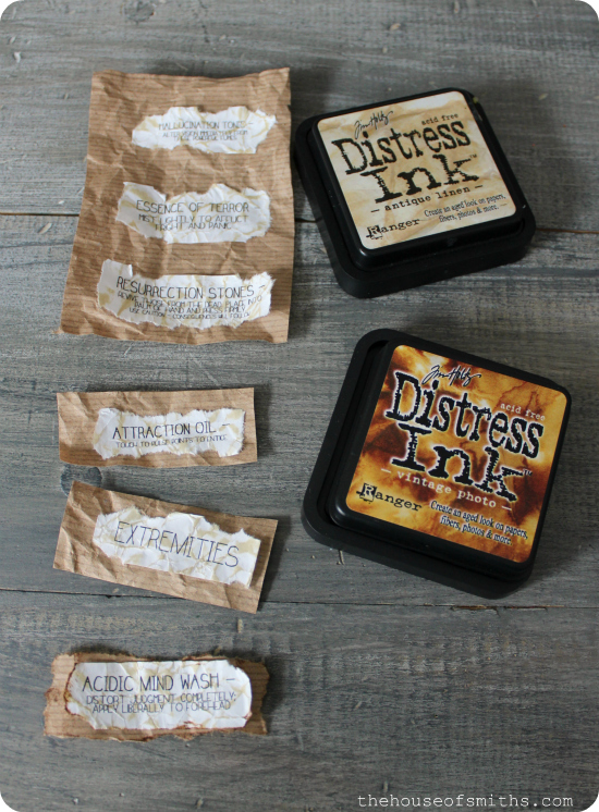 DIY Potion Labels for Halloween - thehouseofsmiths.com