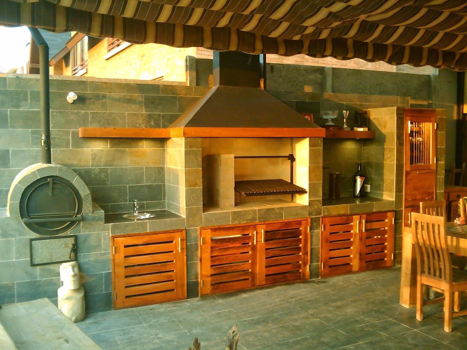 31 cool quinchos y pergolas rusticas for Modelos de terrazas rusticas