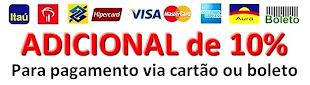 Pagamento por Cartão/Boleto