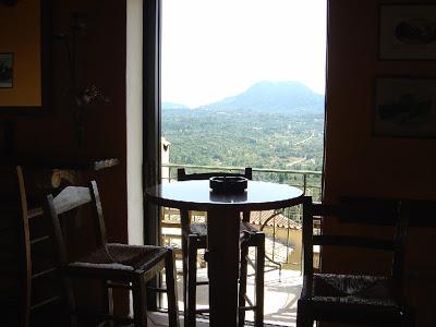 Pelekas Café panorama
