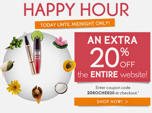 20% OFF Flash Sale on Yves Rocher