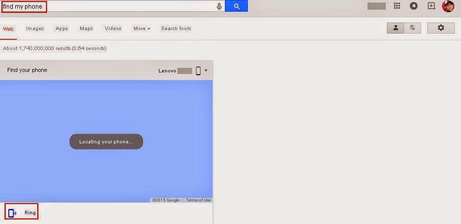 Tips Mudah Lacak Android Yang Hilang Dengan Google