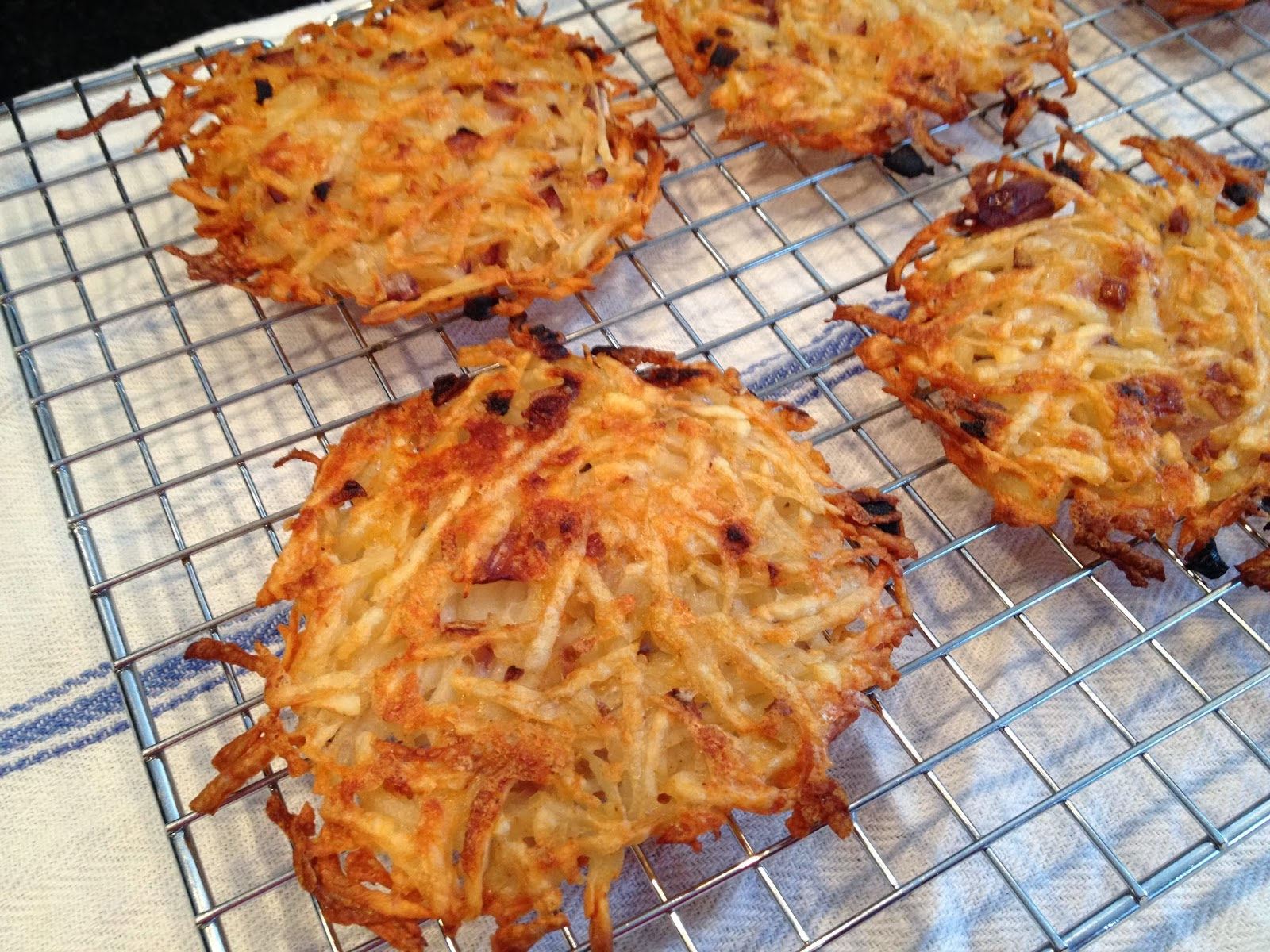 Oven-Roasted Hash Brown Cakes Recipes — Dishmaps