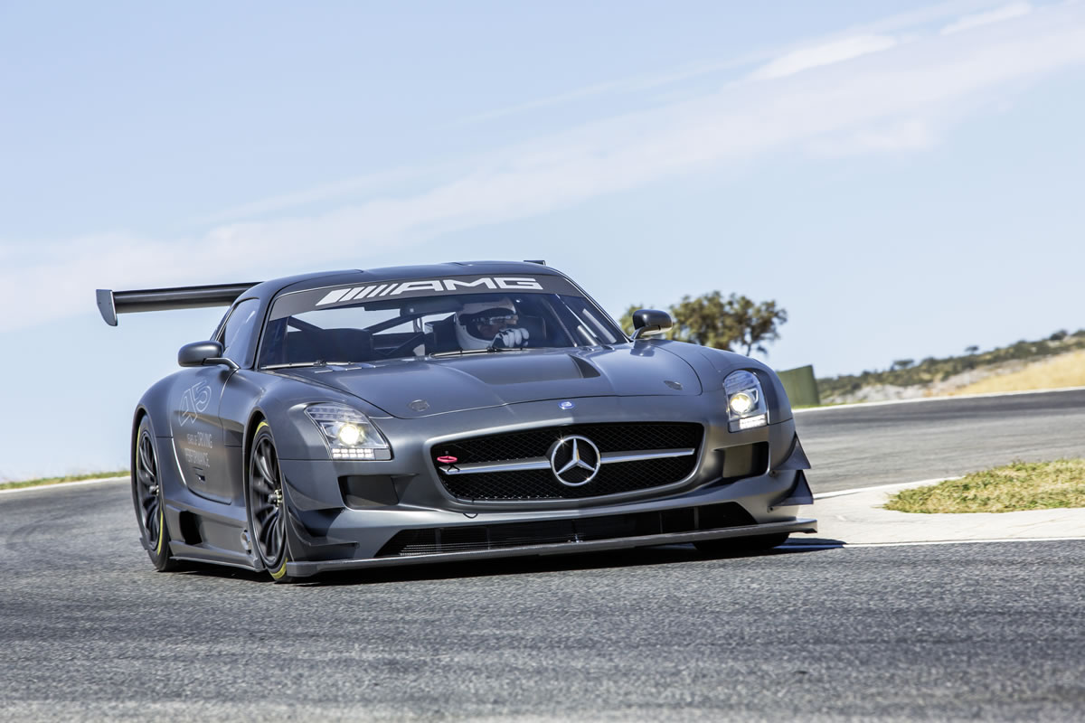 Mercedes benz sls amg gt3 45th anniversary edition 2013 for Mercedes benz gt3
