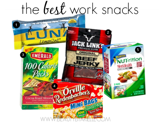 best work snacks