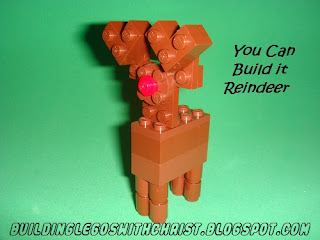 LEGO Christmas Instructional Reindeer Build, Cool Lego Creations