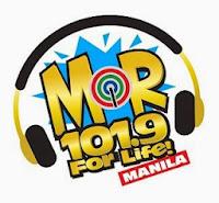 MOR Manila DWRR 101.9Mhz logo
