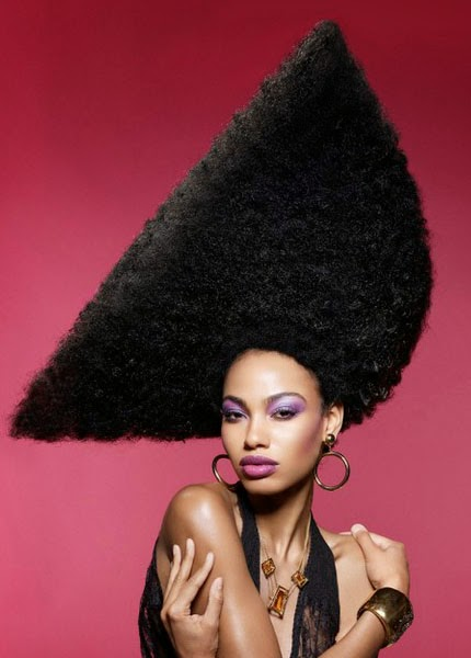 African Super Woman: 6 Amazing Afro HairStyles.