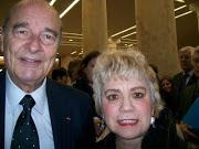 *M. Jacques CHIRAC, ancien Président de la République Française & Morgane BRAVO*