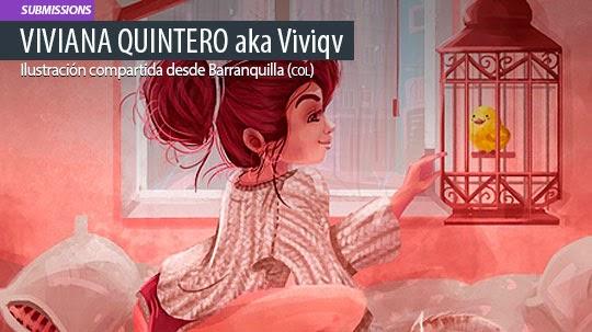 Ilustración. Home alone de VIVIANA QUINTERO