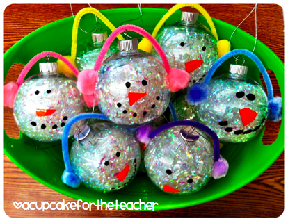 http://acupcakefortheteacher.blogspot.com/2012/12/snowman-ornaments.html