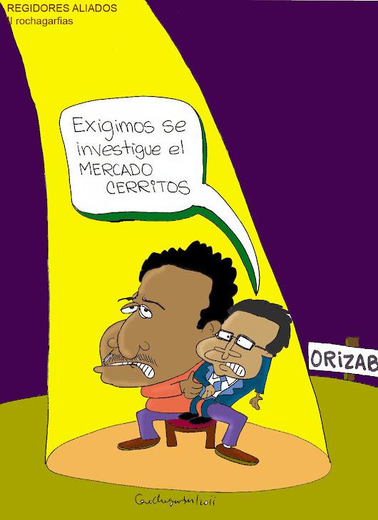 Show de regidores en Orizaba