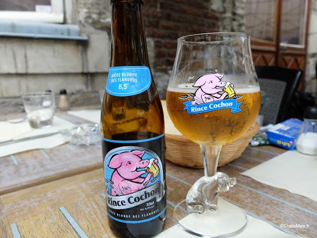 Braderie de LiIle 2014 et 2015, Biere Rince cochon Brasserie moule-frites L'assiette de la ferme resto Lille ThatsMee.fr
