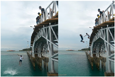 Memacu Adrenalin di Jembatan Cinta