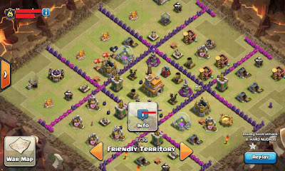 Base Town Hall 7 September 2015 Terkuat Clash of Clans