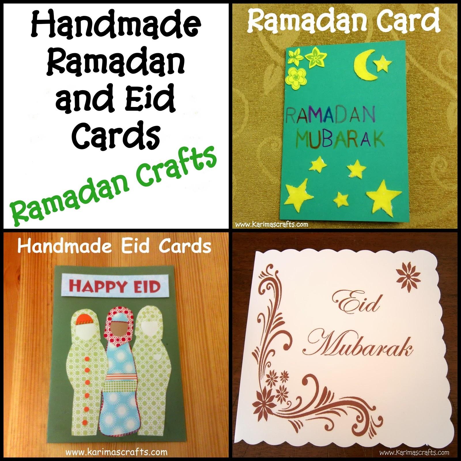 20 Wonderful Eid Mubarak Ideas: Karima's Crafts: 30 Days Of Ramadan Crafts