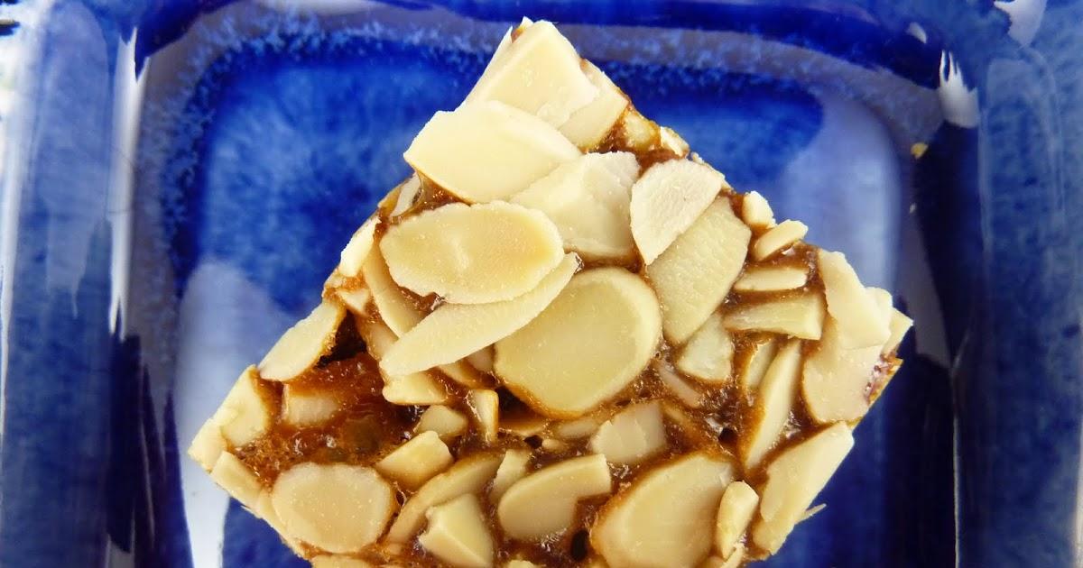 Cookies On Friday Almond Honey Bars