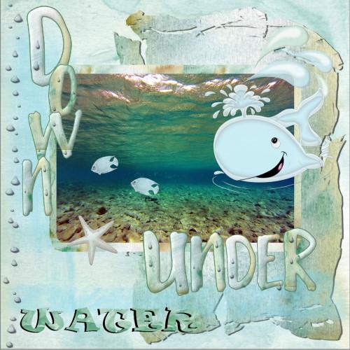 Juli 2016 - 1 Down under water
